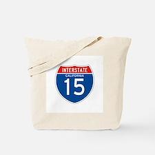 Interstate 15 - CA Tote Bag