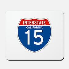 Interstate 15 - CA Mousepad