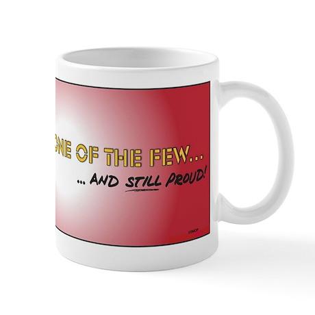 Bumper sticker for Proud Marines Mug