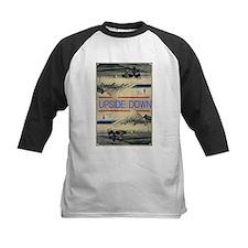 Hiroshige Mt. Fuji upside down Baseball Jersey