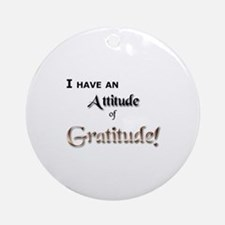 Journals and Motivational Too Ornament (Round)