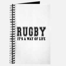 Rugby It's A Way Of Life Journal