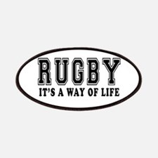 Rugby It's A Way Of Life Patches