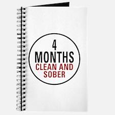 4 Months Clean & Sober Journal