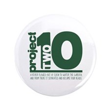 "Project 210 logo 3.5"" Button"