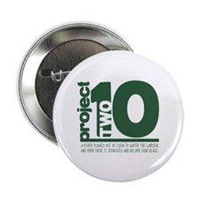 "Project 210 logo 2.25"" Button"