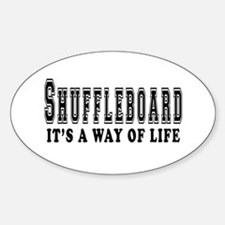 Shuffleboard It's A Way Of Life Decal