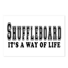 Shuffleboard It's A Way Of Life Postcards (Package