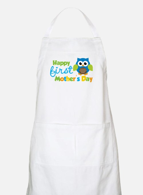 Owl Boy 1st Mothers Day Apron