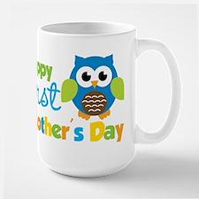 Owl Boy 1st Mothers Day Mug
