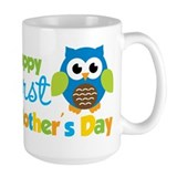 1st mothers day Large Mugs (15 oz)