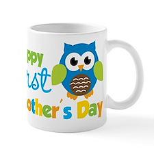 Owl Boy 1st Mothers Day Small Small Mug