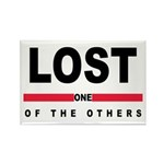 LOST Rectangle Magnet (10 pack)