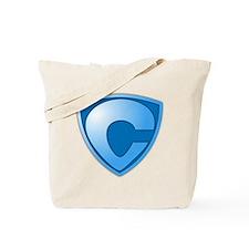 Super C Super Hero Design Tote Bag