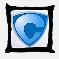 Super C Super Hero Design Throw Pillow