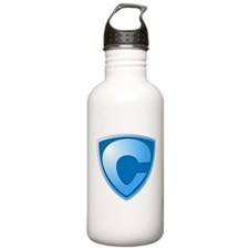Super C Super Hero Design Water Bottle