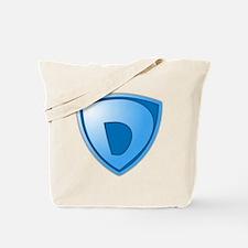 Super D Super Hero Design Tote Bag