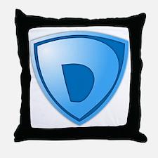 Super D Super Hero Design Throw Pillow