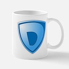 Super D Super Hero Design Mug