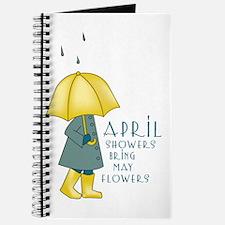 April Showers Journal