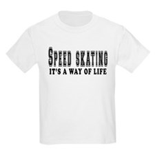 Speed Skating It's A Way Of Life T-Shirt