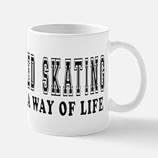 Speed Skating It's A Way Of Life Mug