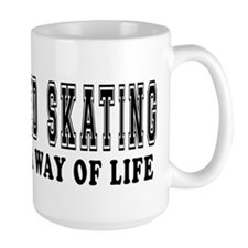 Speed Skating It's A Way Of Life Mug