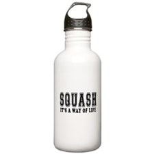 Squash It's A Way Of Life Water Bottle