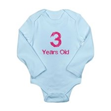 3 Years Old Body Suit