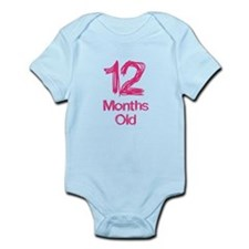 12 Month Old Baby Milestones Body Suit