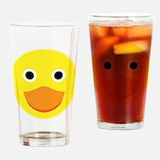 A cute original ducky illustration Drinking Glass
