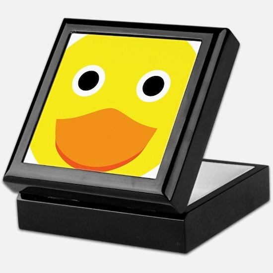 A cute original ducky illustration Keepsake Box