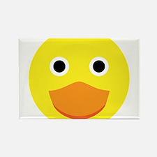 A cute original ducky illustration Rectangle Magne