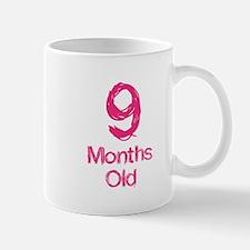 9 Months Old Baby Milestones Mug