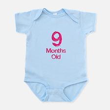 9 Months Old Baby Milestones Body Suit