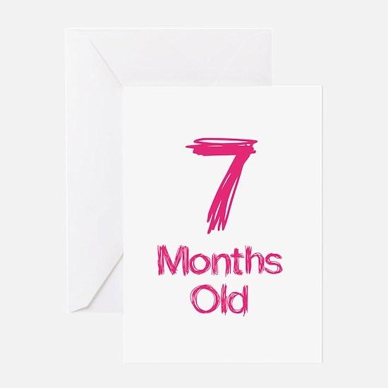 7 Years Old Baby Milestones Greeting Card
