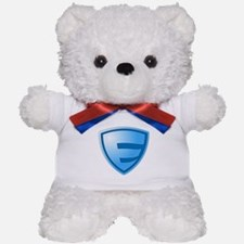 Super E Super Hero Design Teddy Bear