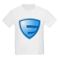 Super E Super Hero Design T-Shirt