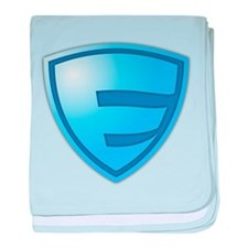 Super E Super Hero Design baby blanket