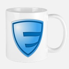 Super E Super Hero Design Mug