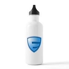 Super E Super Hero Design Water Bottle