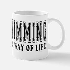 Swimming It's A Way Of Life Mug