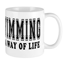 Swimming It's A Way Of Life Mug