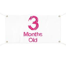 3 Months Old Baby Milestones Banner
