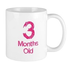 3 Months Old Baby Milestones Mug