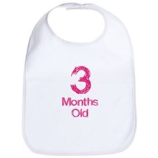 3 Months Old Baby Milestones Bib