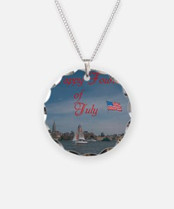 Happy Fourth Of July. Necklace