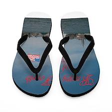 Happy Fourth Of July. Flip Flops