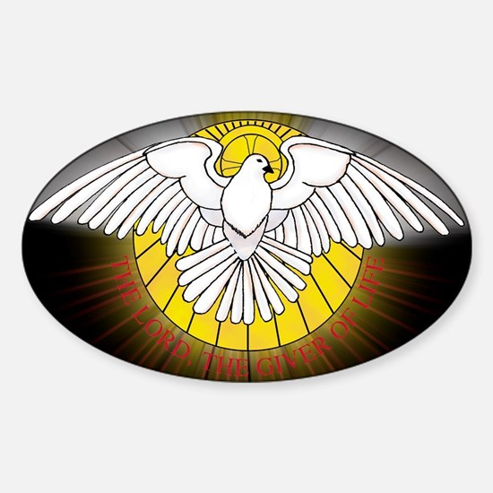 Holy Spirit Rectangle Decal