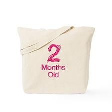 2 Months Old Baby Milestones Tote Bag
